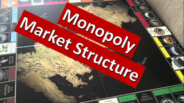 The four types of market structure - Monopolistic